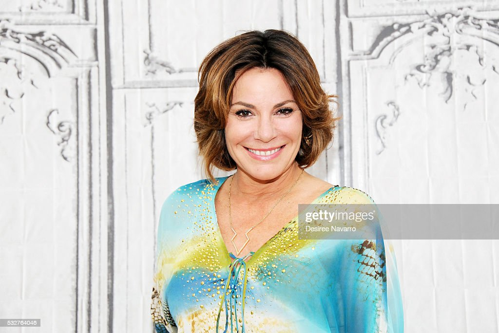TV personality Countess Luann de Lesseps from the hit Bravo series Real Housewives of New York City discusses life in the reality TV world, her upcoming marriage, and her outside business ventures at AOL Build on May 19, 2016 in New York, New York.