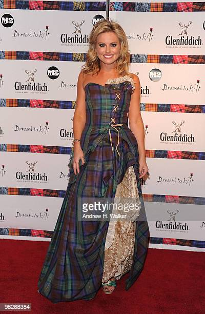 TV personality Courtney Friel attends the 8th annual Dressed To Kilt Charity Fashion Show presented by Glenfiddich at M2 Ultra Lounge on April 5 2010...