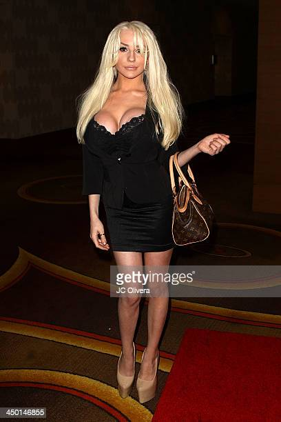 Personality Courtney Stodden attends The Los Angeles Police Protective League Eagle Badge Foundation's 12th Anniversary 'In The Line Of Duty' Awards...