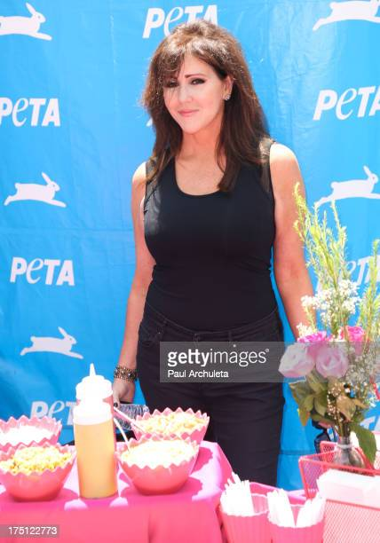Personality Courtney Stodden's Mother Krista Keller attends her daughter's PETA evet at Hollywood Highland Center on July 31 2013 in Hollywood...