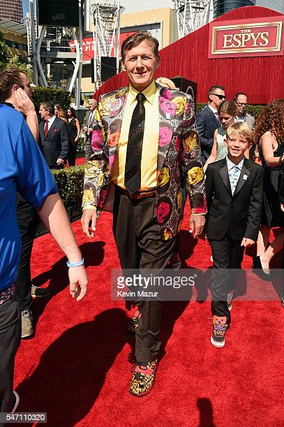 TV personality Craig Sager attends the 2016 ESPYS at Microsoft Theater on July 13 2016 in Los Angeles California