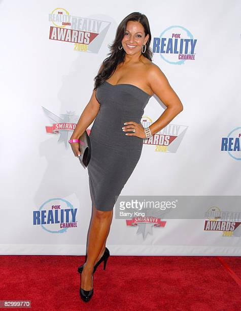 TV personality Cristina Coria arrives at the Fox Reality Channel's Really Awards held at Avalon Hollywood on September 24 2008 in Hollywood California
