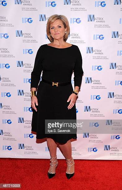 TV personality Cynthia McFAdden attends the 2014 Matrix Awards at The Waldorf=Astoria on April 28 2014 in New York City