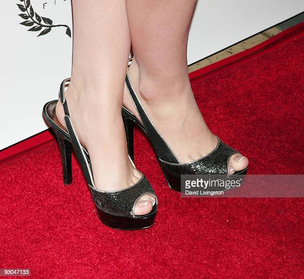 TV personality Daisy De La Hoya attends opening night of the Bel Air Film Festival at UCLA's James Bridges Theater on November 13 2009 in Los Angeles...