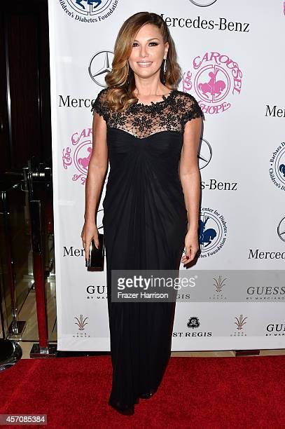 TV personality Daisy Fuentes attends the 2014 Carousel of Hope Ball presented by MercedesBenz at The Beverly Hilton Hotel on October 11 2014 in...