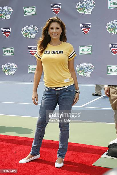 Personality Daisy Fuentes during the 2007 Arthur Ashe Kids' Day Presented by Hess at the USTA Billie Jean King National Tennis Center on August 25...