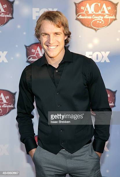 TV personality Dan King arrives at the American Country Awards 2013 at the Mandalay Bay Events Center on December 10 2013 in Las Vegas Nevada