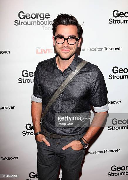 TV personality Dan Levy attends The Hazelton Takeover at The Hazelton Hotel during the 2011 Toronto International Film Festival on September 9 2011...