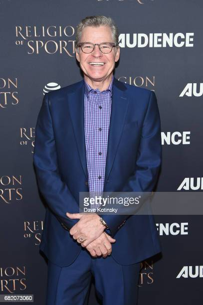 Personality Dan Patrick attends ATT Audience Network Celebrates the Religion of Sports at St Bart's Cathedral on November 3 2016 in New York Cit
