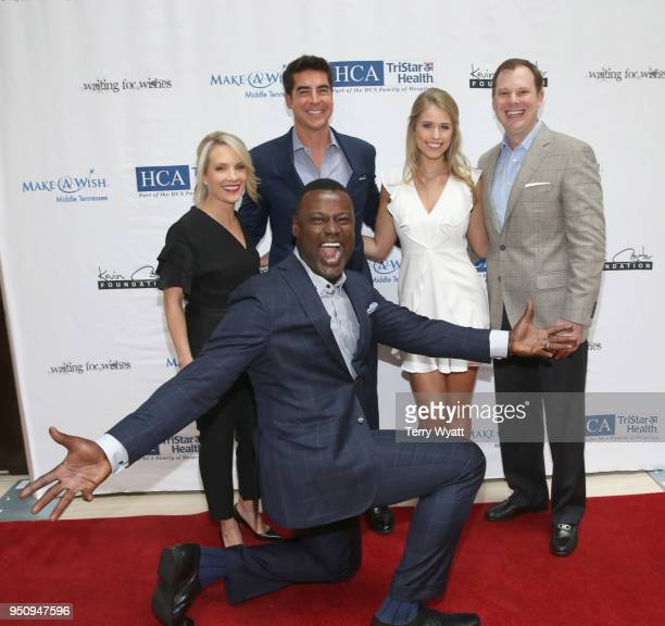 TV personality Dana Perino TV host Jesse Watters host Kevin Carter artist Jillian Cardarelli and Brian Parker attends the 17th annual Waiting for...