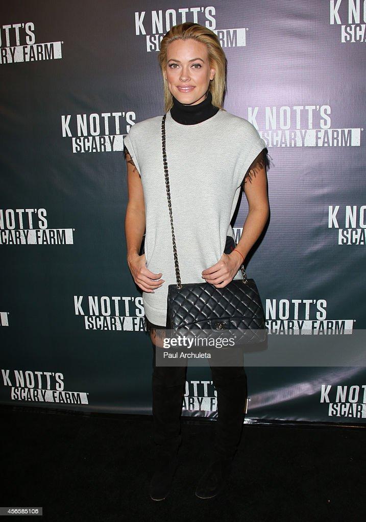Knott's Scary Farm Celebrity VIP Opening Night : News Photo