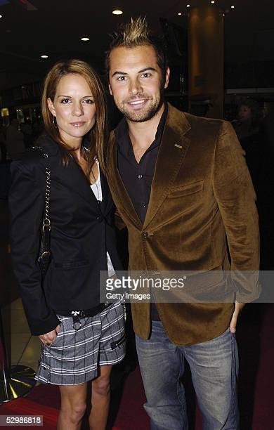 Personality Daniel Macpherson and Michaela Bannis walk the red carpet for the opening night of The Producers at The Lyric Theatre, Star City Casino...