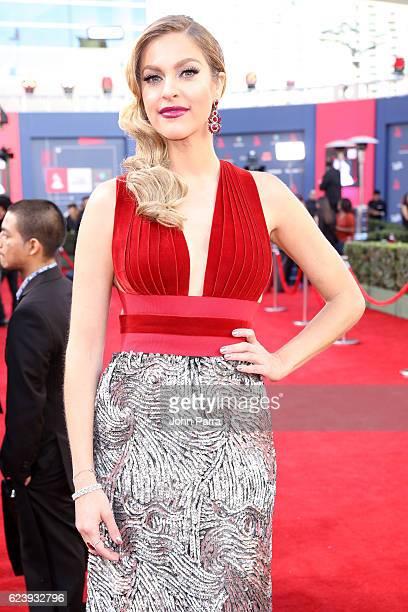TV personality Daniela Di Giacomo attends The 17th Annual Latin Grammy Awards at TMobile Arena on November 17 2016 in Las Vegas Nevada