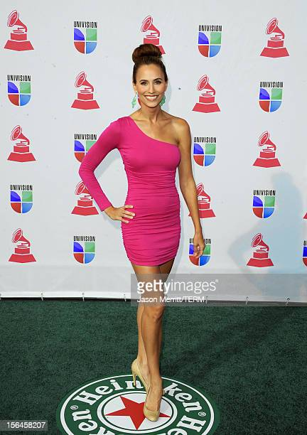 4207b955 TV personality Danielle Demski arrives at the 13th annual Latin GRAMMY  Awards held at the Mandalay