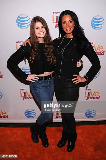 TV personality Danielle Staub and her daughter Jillian attend ATT Live Proud at Highline Ballroom on October 13 2014 in New York City