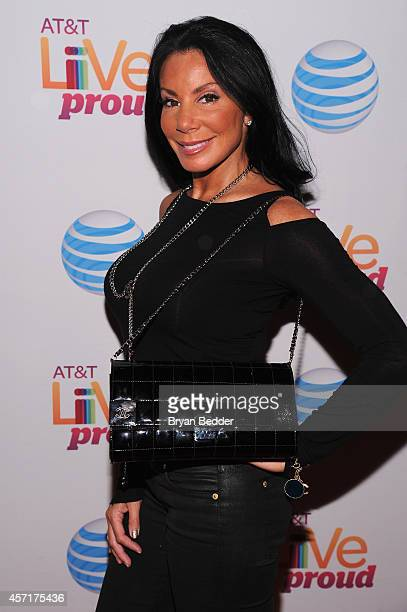 TV personality Danielle Staub attends ATT Live Proud at Highline Ballroom on October 13 2014 in New York City