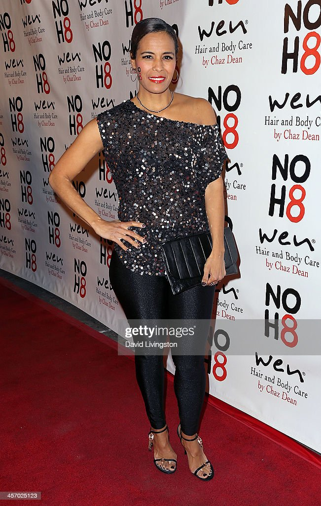 TV personality Daphne Wayans attends the NOH8 Campaign 5th Anniversary Celebration at Avalon on December 15, 2013 in Hollywood, California.