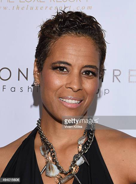 TV personality Daphne Wayans attends the Pia Gladys Perey Spring/Summer 2016 Fashion Show at Sofitel Hotel on October 23 2015 in Los Angeles...