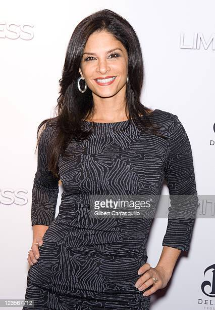 TV personality Darlene Rodriguez attends the premiere of Limitless at the Regal Union Square on March 8 2011 in New York City