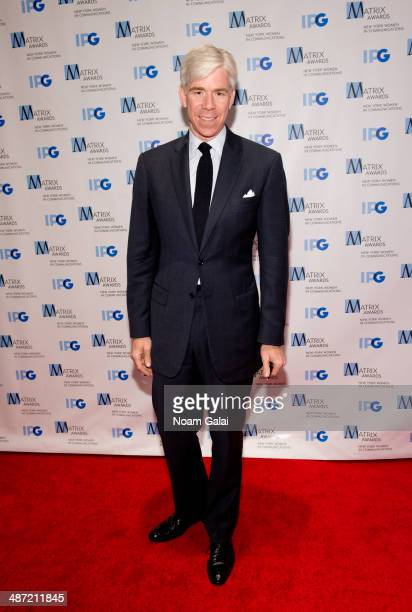 TV personality David Gregory attends the 2014 Matrix Awards at The Waldorf=Astoria on April 28 2014 in New York City