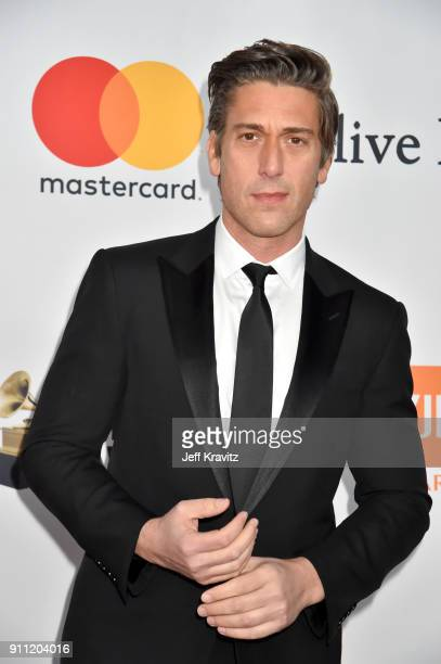 TV personality David Muir attends the Clive Davis and Recording Academy PreGRAMMY Gala and GRAMMY Salute to Industry Icons Honoring JayZ on January...