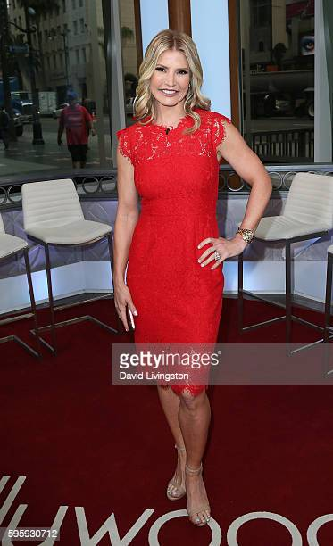 TV personality Dayna Devon poses at Hollywood Today Live at W Hollywood on August 26 2016 in Hollywood California