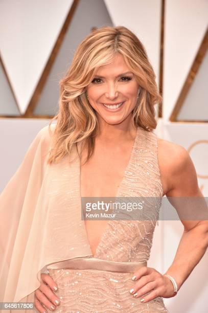 TV personality Debbie Matenopoulos attends the 89th Annual Academy Awards at Hollywood Highland Center on February 26 2017 in Hollywood California