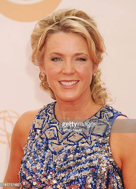 TV personality Deborah Norville arrives at the 65th Annual Primetime Emmy Awards at Nokia Theatre LA Live on September 22 2013 in Los Angeles...