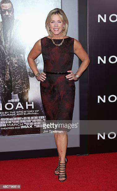 Personality Deborah Norville attends the 'Noah' New York Premiere at Ziegfeld Theatre on March 26 2014 in New York City