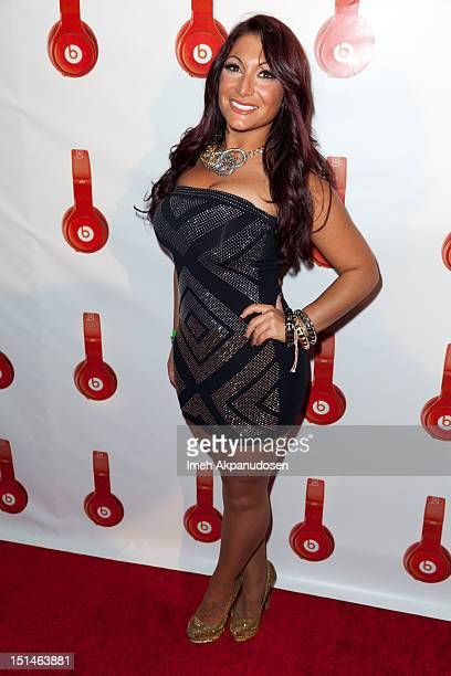 TV personality Deena Nicole Cortese attends the Beats By Dr Dre Lil Wayne VMA AfterParty at Playhouse Hollywood on September 6 2012 in Los Angeles...