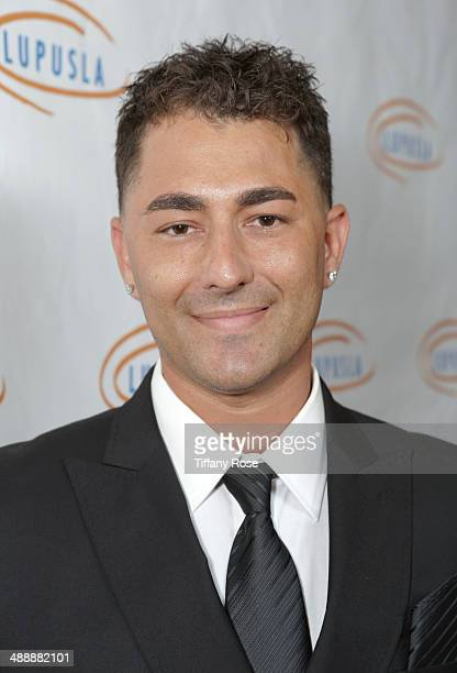 TV personality Dennis Desantis attends the Lupus LA Orange Ball on May 8 2014 in Beverly Hills California