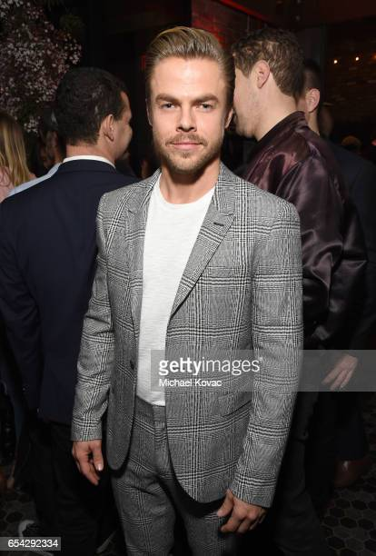 TV personality Derek Hough attends day one of TAO Beauty Essex Avenue Luchini LA Grand Opening on March 16 2017 in Los Angeles California