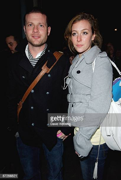 TV personality Dermot O'Leary and fiancee Deborah Koppang attend the after show party following the West End transfer and press night of the Lyric...