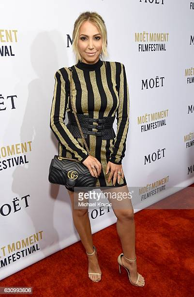 TV personality Diana Madison attends Moet Chandon Celebrates The 2nd Annual Moet Moment Film Festival and Kicks off Golden Globes Week at Doheny Room...