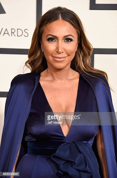 TV personality Diana Madison attends The 57th Annual GRAMMY Awards at the STAPLES Center on February 8 2015 in Los Angeles California