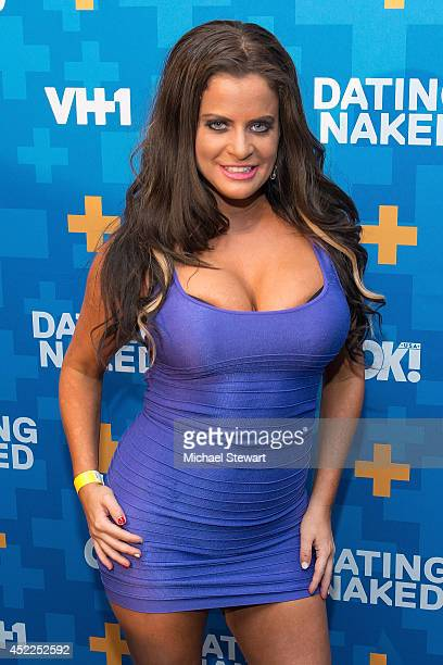 TV personality Diana Venus attends the 'Dating Naked' series premiere at Gansevoort Park Avenue on July 16 2014 in New York City