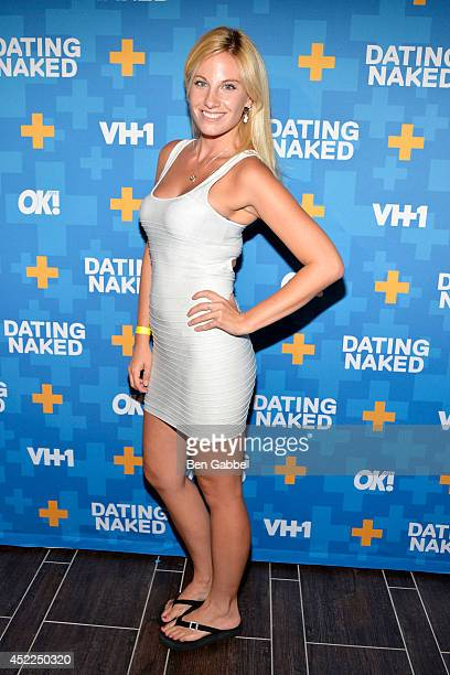TV personality Diane Poulos attends the Dated Naked series premiere at Gansevoort Park Avenue on July 16 2014 in New York City