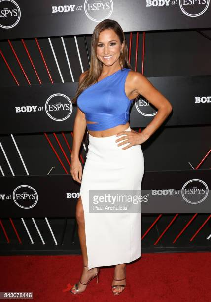 Personality Dianna Russini attends the ESPN Magazin Body Issue preESPYS party at Avalon Hollywood on July 11 2017 in Los Angeles California