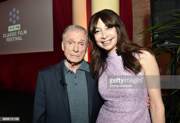 TV personality Dick Cavett and actor Illeana Douglas attend the 2017 TCM Classic Film Festival on April 9 2017 in Los Angeles California 26657_004