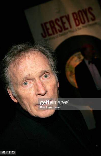 TV personality Dick Cavett attends the play opening night of 'Jersey Boys' after party at the Marriott Marquis November 6 2005 in New York City