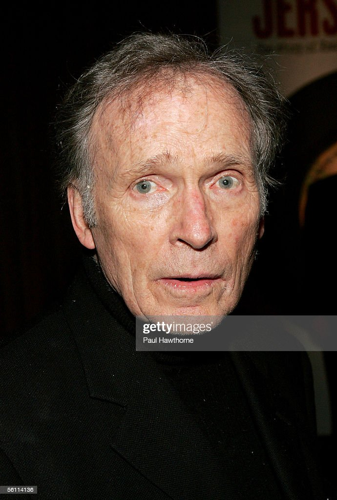 TV personality Dick Cavett attends the play opening night of 'Jersey Boys' after party at the Marriott Marquis November 6, 2005 in New York City.