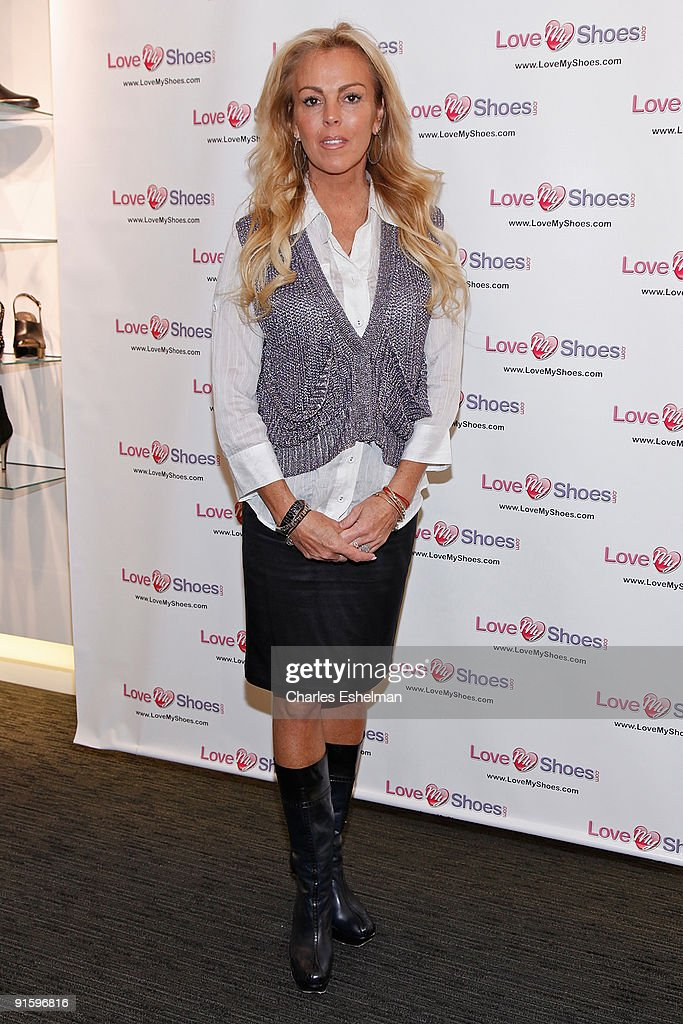 Dina Lohan Announces Her New Shoe-han Shoe Line