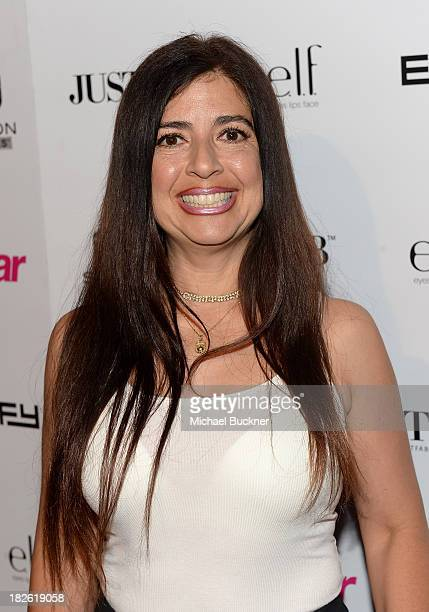 TV personality Dominique Pinassi attends Star Scene Stealers Event at Tropicana Bar at The Hollywood Rooselvelt Hotel on October 1 2013 in Hollywood...