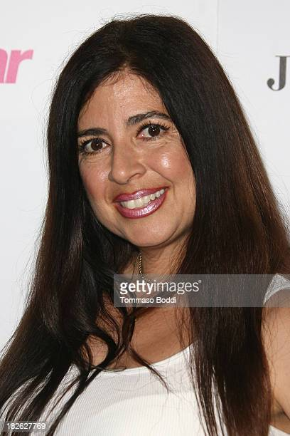 TV personality Dominique Pinassi attends the Star Magazine Scene Stealers Party held at Tropicana Bar at The Hollywood Rooselvelt Hotel on October 1...