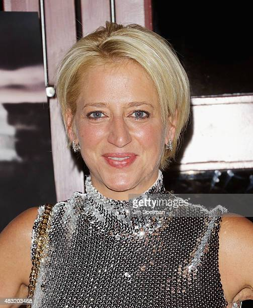 """Personality Dorinda Medley attends """"The Runner"""" New York special screening at Village East Cinema on August 6, 2015 in New York City."""