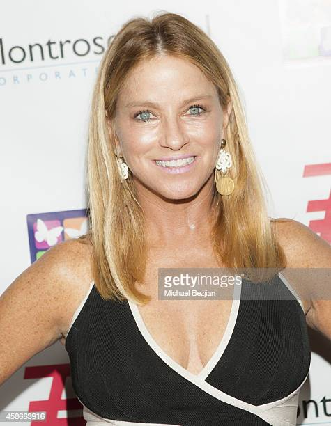 Personality Dorothy Lucey arrives at Mending Kids International Wings Around The World Gala at Santa Monica Airport on November 8 2014 in Santa...