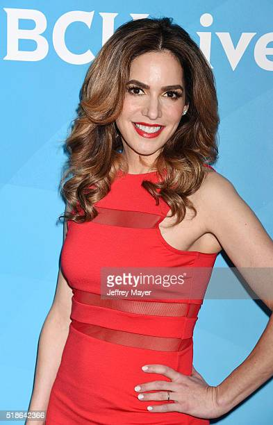 Personality Dr. Darcy Sterling arrives at the 2016 Summer TCA Tour - NBCUniversal Press Tour at the Four Seasons Hotel - Westlake Village on April 1,...