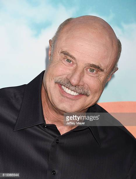 TV personality Dr Phil McGraw attends Nickelodeon's 2016 Kids' Choice Awards at The Forum on March 12 2016 in Inglewood California