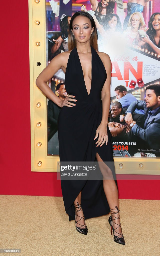 TV personality Draya Michele attends the premiere of Screen Gems' 'Think Like a Man Too' at the TCL Chinese Theatre on June 9, 2014 in Hollywood, California.