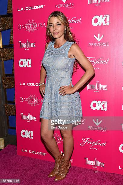 TV personality Drita D'Avanzo attends the 2016 OK Magazine So Sexy NY at TAO Downtown on June 1 2016 in New York City